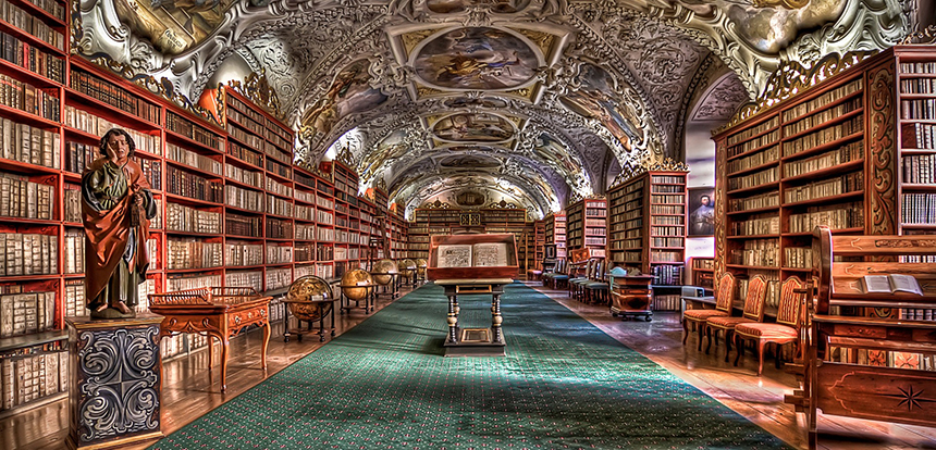 prague monastery library